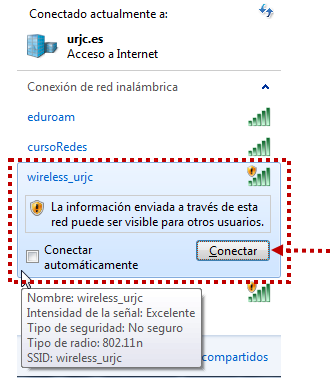 Conectar wireless